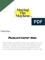 moving the mayhem ppt