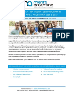 Mente Argentina Volunteer Program in Buenos Aires-Argentina 2016-2017