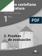Examenes de legua y literatura 2 evalución
