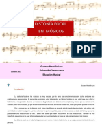 Distonía Focal