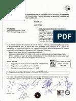 Acta 29 Comisión de Seguimiento VI Convenio Colectivo