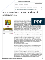 9 Unknown Man Secret Society of Ancient India