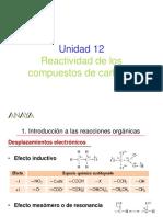 Presentaciones Reactividad Compuestos Del Carbono