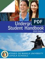 Ateneo Student Handbook 2010 Edition