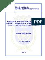 Normam-08 Tráfego e Permanência de Embarcações em AJB