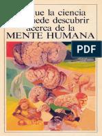 04 Lo Que La Ciencia No Puede Descubrir Acerca de La Mente Humana (Prelim 1983)