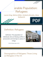vulnerable populations  refugees