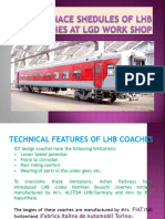 Lhb Maintenance Pratices