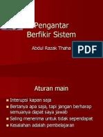161128Pengantar System Thinking