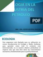 Ecologia en La Industria Del Petroleo