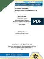 Evidencia 10 Esquema Grafico Sistemas de Control Al Interior de La DFI