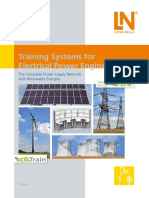 Training Systems for Electrical Power Engineering Catalog