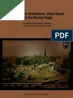 Cities in Film 2008 Proceedings