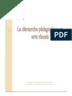 La Demarche Pedagogique en Arts Visuels2 01
