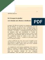 De l'Étrangeté Du Phallus