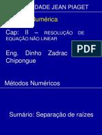 Aula de Metodos Numerico