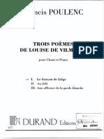 POULENC Francis trois poemes.pdf