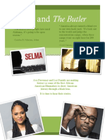 Eportfolio Final - Helen Quinn Pasin - Selma and The Butler
