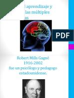 Teorías Del Aprendizaje y Teorías de Las Múltiples