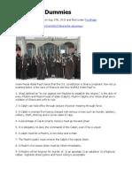 Sharia (Muslim Law) for Dummies - Darwish