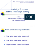 Knowledge Economy and Society 9436