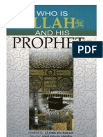 Who is Allah and His Prophet -