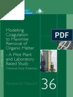 Report36 Modelling Coagulation
