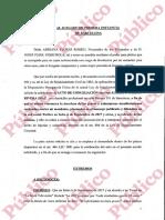 Querella presentada por Josep Pujol Ferrusola contra Albert Rivera acusándole de calumniar a la familia Pujol