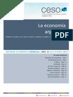 Informe Economico Mensual Nro Xi - Noviembre 2017 - Prensa