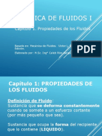 Capitulo 1 - Fluidos i