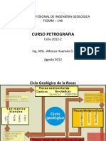 Curso Petrologia 2012 - 2 - Presentación
