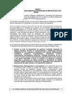 Guía de Diligenciamiento de Vistos Buenos de Importación VUCE 2015