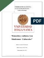 Emoción y Cultura