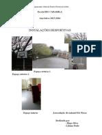 Modelo Instalações Desportivas Nas Escolas EB1 Caramila