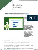 Administrar Costes - Project