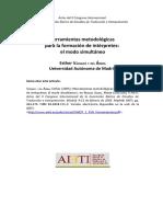 Herramientas Metodológicas Para La Formación de Intérpretes en Simultánea