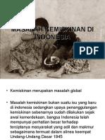 Masalah Kemiskinan Di Indonesia