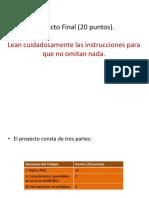 Proyecto Final Otoño 2017
