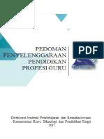 Pedoman Penyelenggaraan PPG