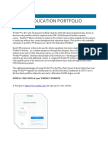 edu 299 portfolio directions