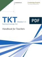TKT Handbook for Teachers.pdf