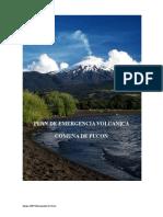 Ejemplo Plan de Emergencias Volcanicas