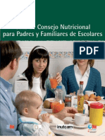 Guia_nutricional Para Padres y Familiares de Escolares CAM