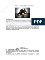 Monografia El Feminicidio en El Peru