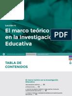 Leccion 4. Taller de Investigacion Educativa