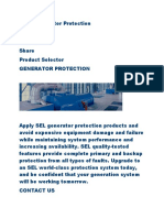 SEL Generator Protection