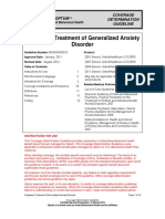 Gen Anxiety Disorder Outpatient