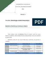 Proiect Final Zentiva