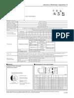 Aluminum Electrolytic Capacitors SMT