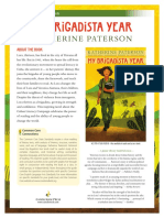 My Brigadista Year by Katherine Paterson Teachers' Guide